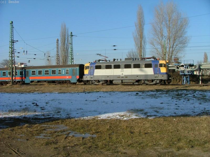 V43 2317 Kõbánya-Kispesten fotó