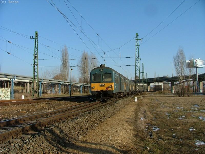 BDt 320 Kõbánya-Kispesten fotó