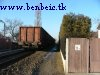 A freight train pulled by M62 265 is arriving at K�b�nya-Kispest