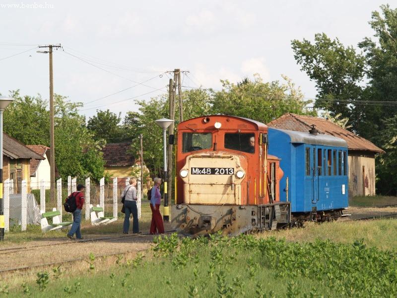 Mk48 2013 Bugac állomáson fotó