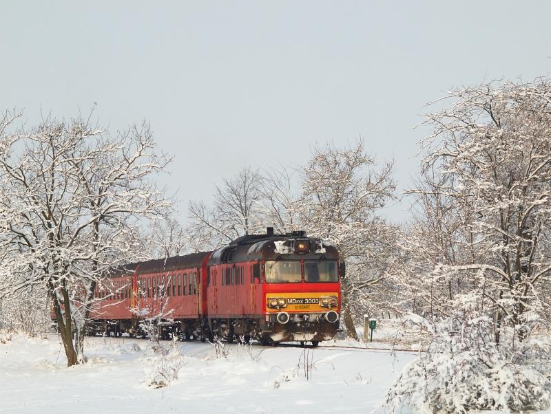 MDmot 3003 Berekfürdő  és Karcag-Ipartelep között fotó