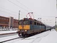 1144 256 cukorrépa-vonattal St. Pölten Hauptbahnhofon