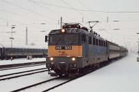 The V43 1215 is arriving at Debrecen station