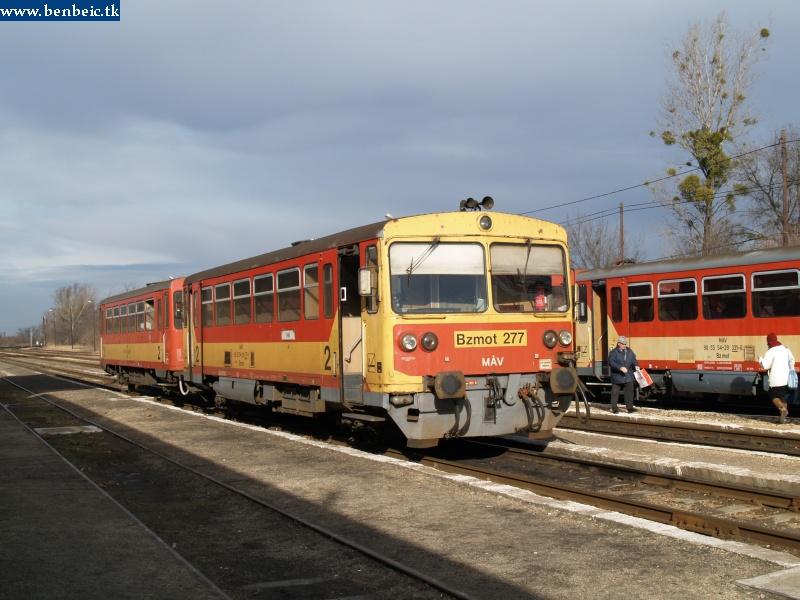 Bzmot 277 és 331 Veszprémvarsány állomáson fotó