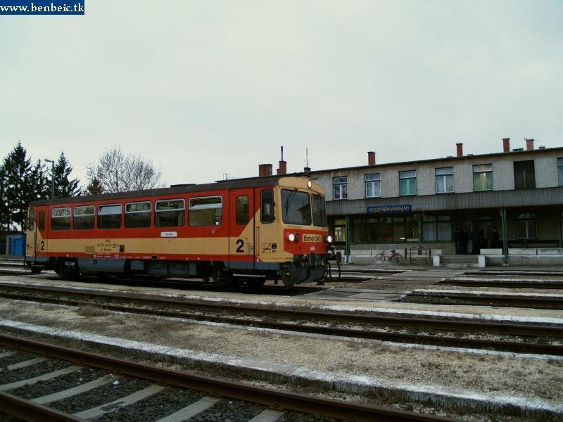 Bzmot 345 Veszprémvarsányban fotó