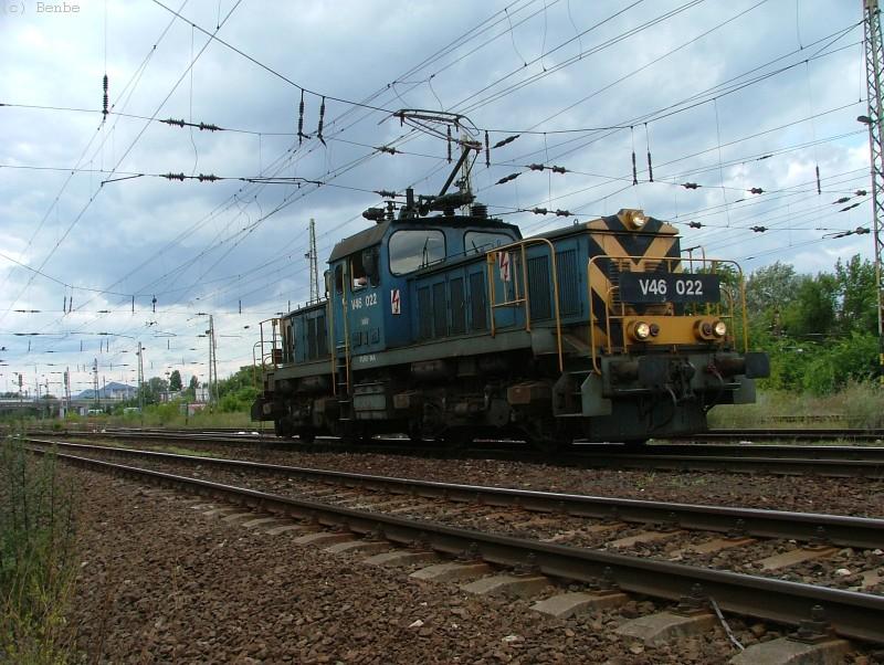 V46 022 Városligeti elágazásnál fotó