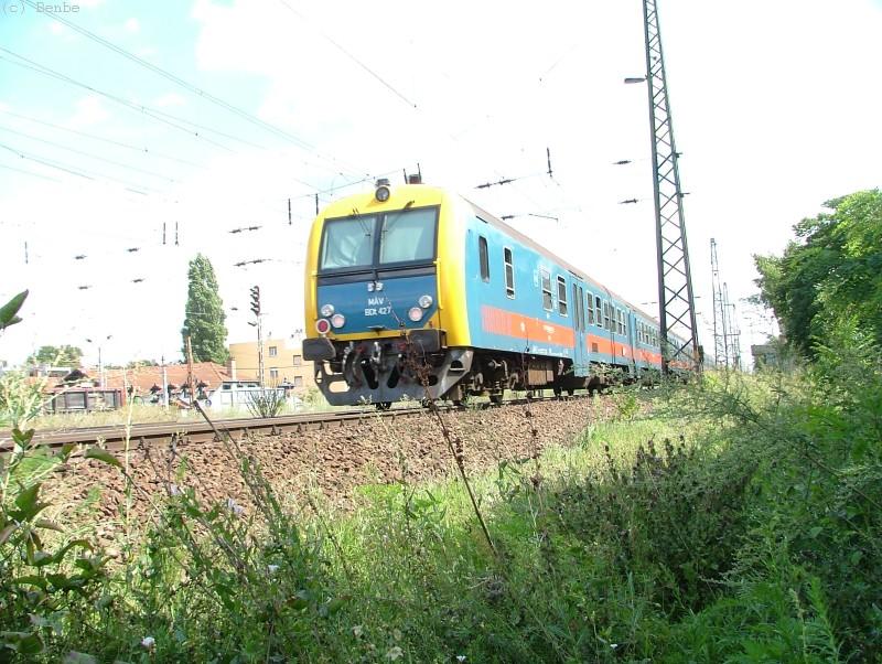 BDt 427 Városligeti elágazásnál fotó