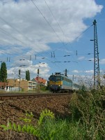 The V43 1139 near V�rosliget junction