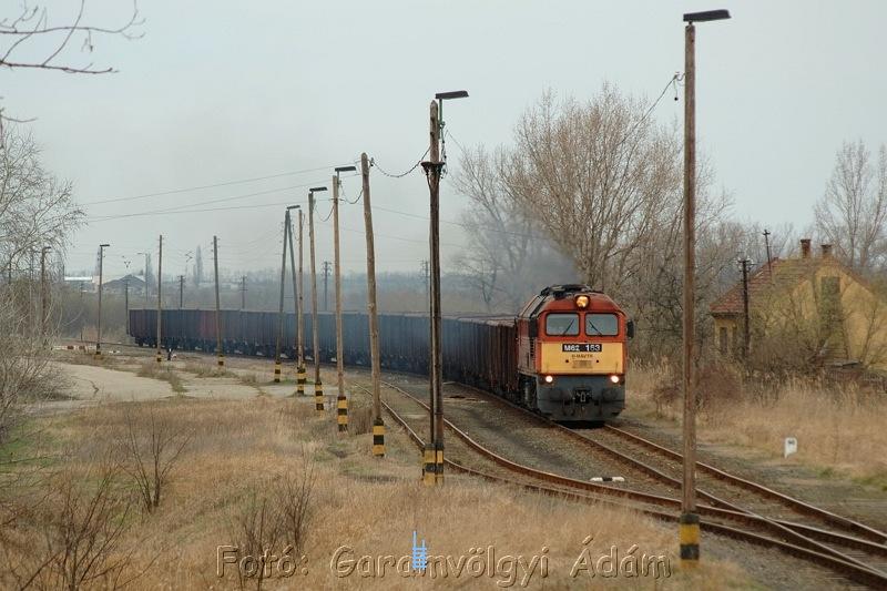 M62 163 Aba-Sárkeresztúr állomáson fotó