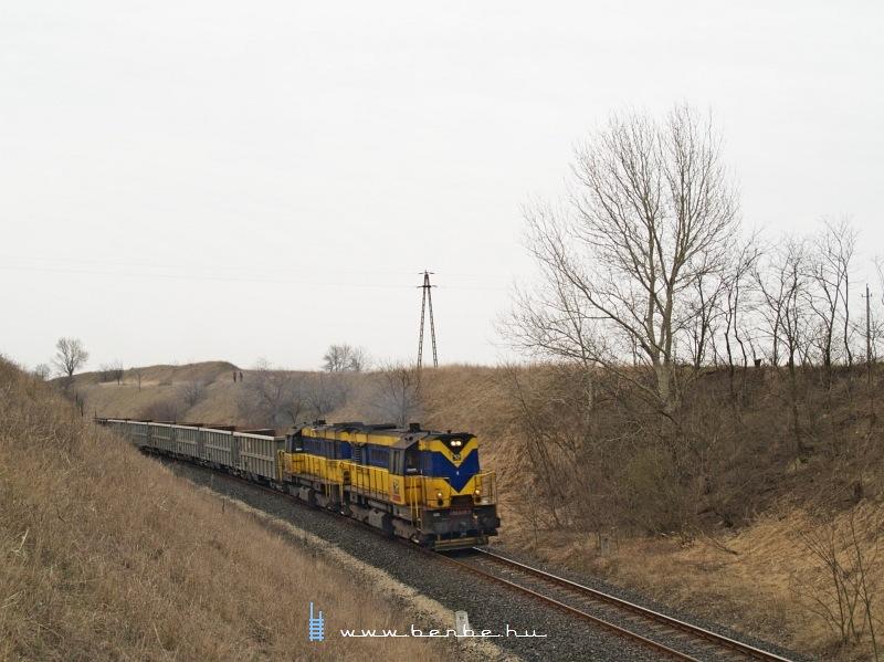 The 740 618-4 between Nagykarácsony and Nagykarácsony felsõ photo