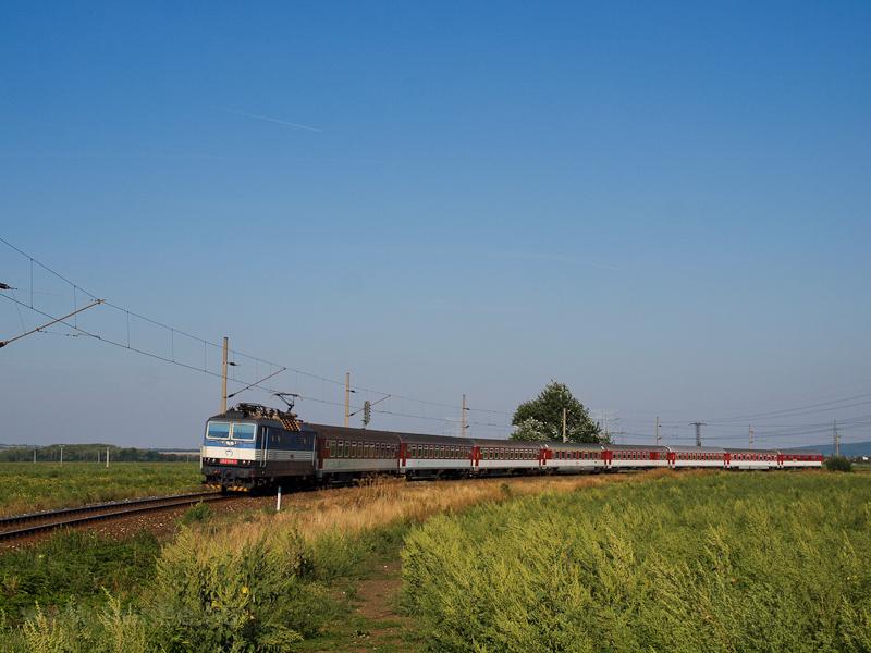 A ŽSSK 362 003-3 Óhaj-Hull és Zsitvafödémes között fotó