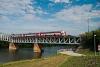 Váh river bridge at Komárom