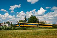 A RegioJet 628 315-3 Nagypaka és Nagylég között