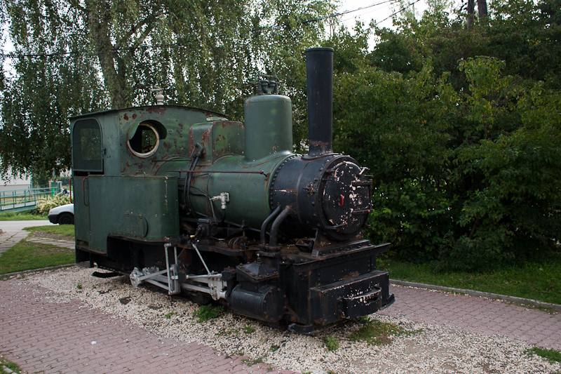 A Triglav 600 mm nyomközű gőzmozdony Kismaroson fotó