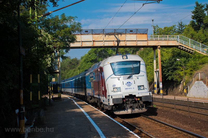 The ČD 380 013-3 seen  photo