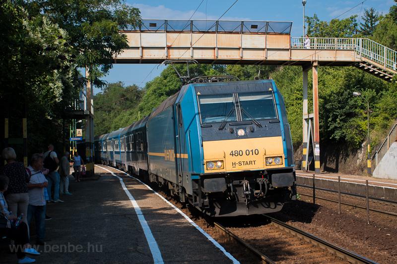 The MÁV-START 480 010 seen  photo