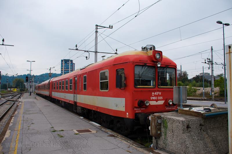 A KFV 9160 025 pályaszámú Bbmot Laibach (Ljubljana) állomáson fotó
