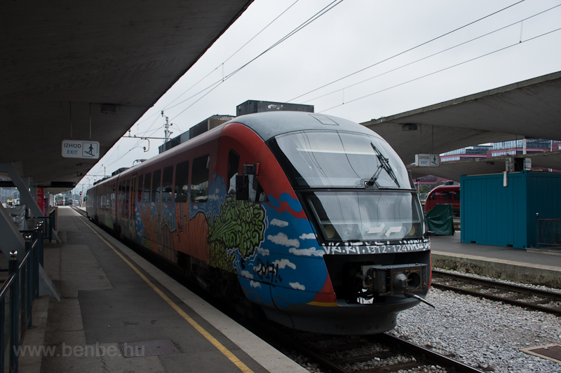 The SŽ 312 124 seen at photo