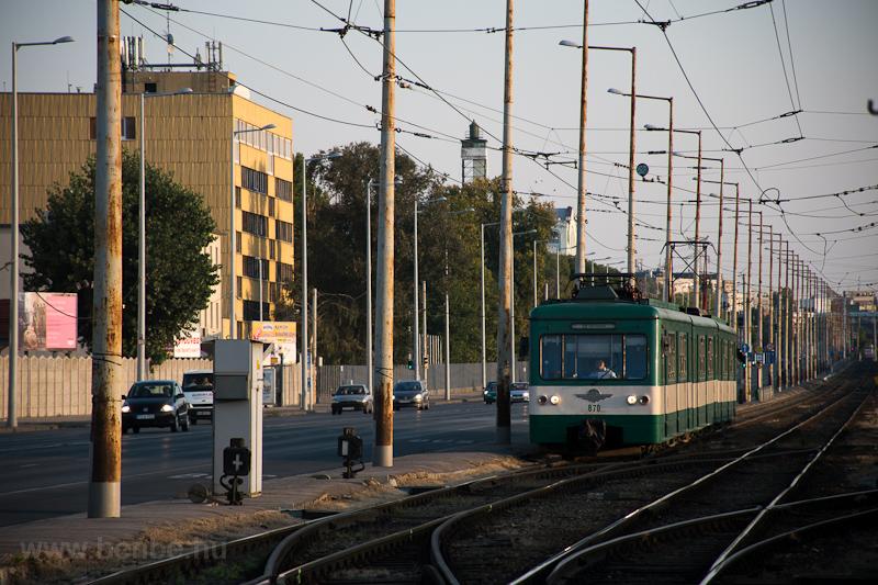 A MÁV-HÉV MX. 870 Soroksár, fotó