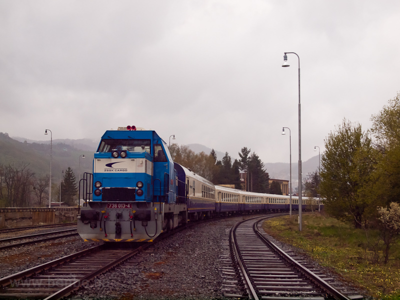 The ŽSSK 736 013-4 see photo