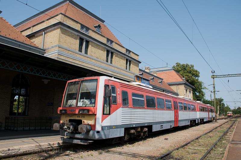 A MÁV-START 416 015 Szeged  fotó