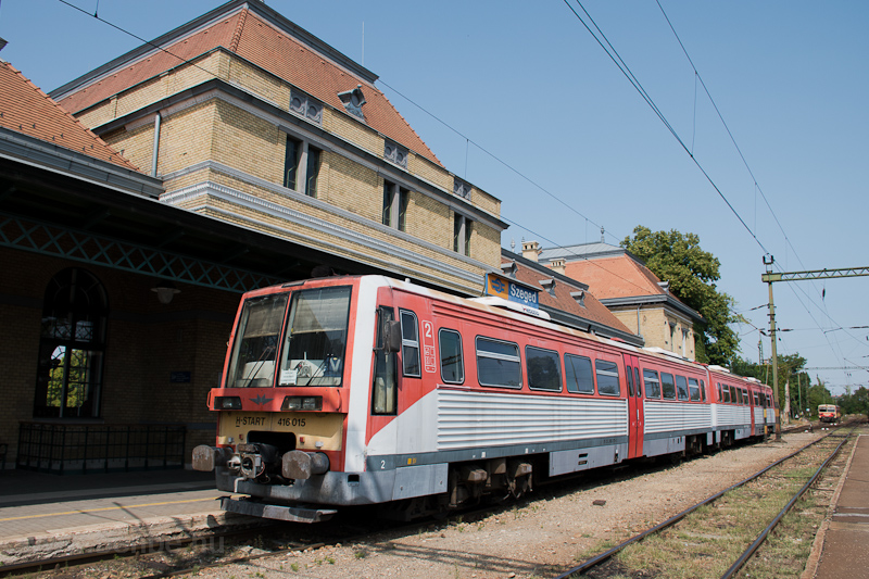 The MÁV-START 416 015 seen  photo