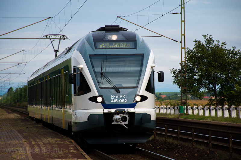 A MÁV-START 415 062 Hosszúb fotó