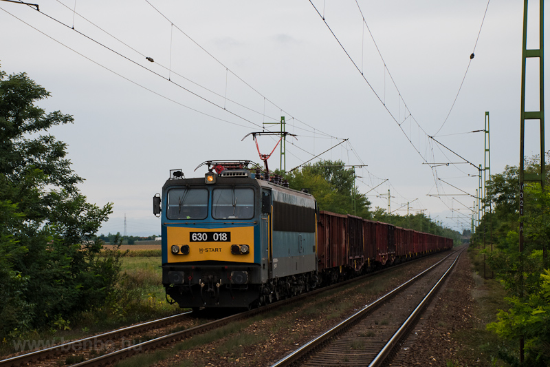 The MÁV-START 630 018 seen  picture