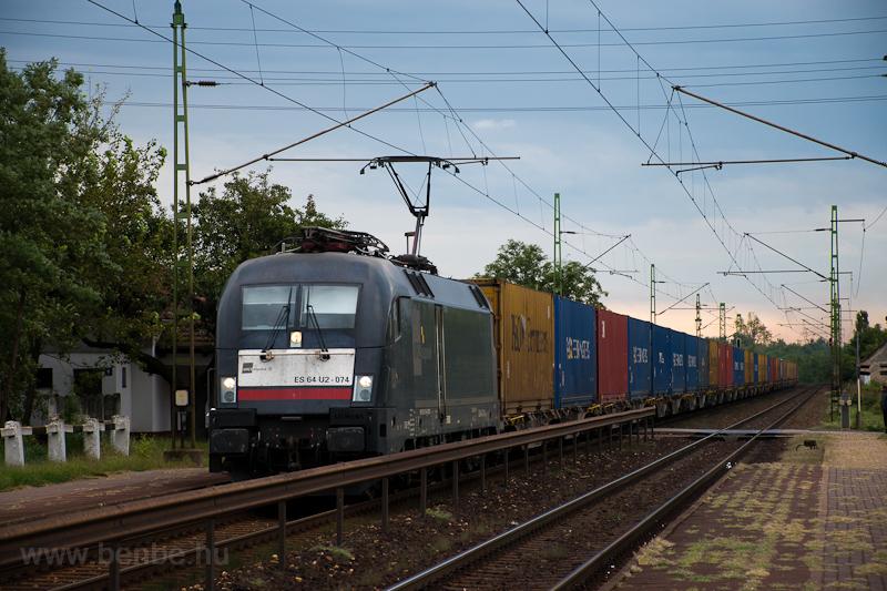 The MRCE Dispolok ES 64 U2  photo