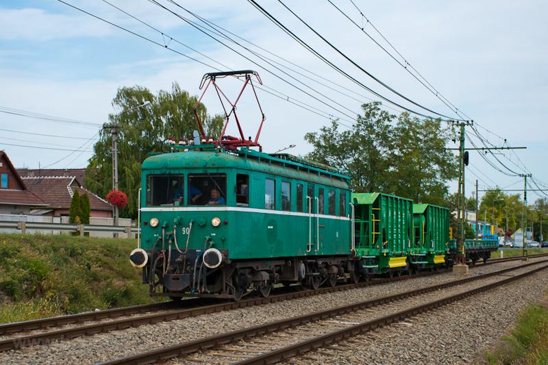 A MÁV-HÉV LVII 90 pályaszám fotó
