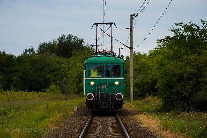 A MÁV-HÉV LVII 90 Tököl és  fotó