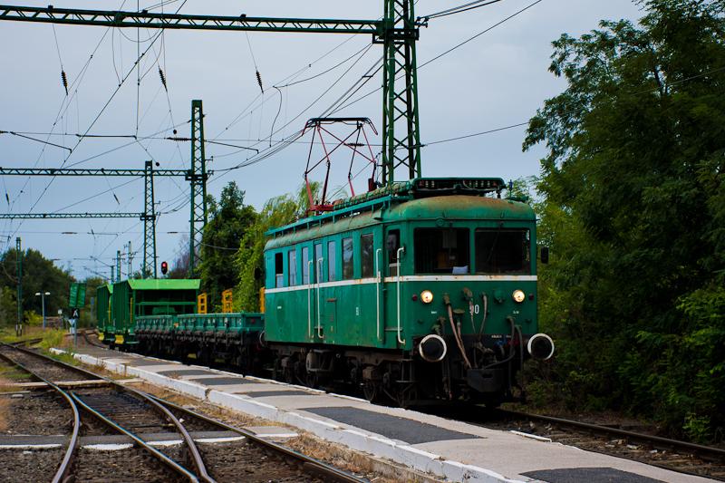 A MÁV-HÉV LVII 90 Szigetcsé fotó
