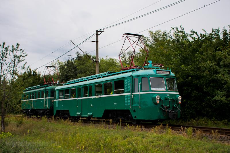 A MÁV-HÉV MVIII 251 Tököl és Szigetmajor között fotó