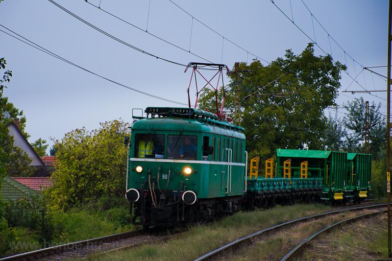 A MÁV-HÉV LVII 90 Szigetsze fotó