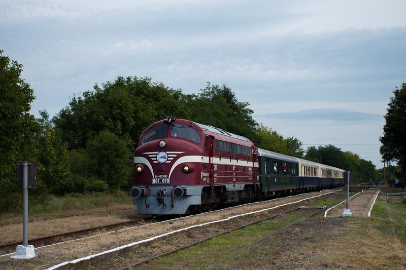 A Nohab-GM Alapítvány M61 010 Drégelypalánk állomáson fotó