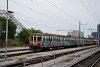 A SŽ 316 225 pályaszámú Gomulka Laibach állomáson
