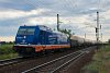 The raildox.de 185 409-0 seen between Hosszúberek-Péteri and Üllő