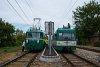 A MÁV-HÉV MVIII. 251 Dunaharaszti külső állomáson
