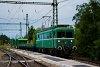 A MÁV-HÉV LVII 90 Szigetcsép állomáson