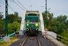 A MÁV-HÉV LVII 90 Dunahíd forgalmi kitérő és Dunaharaszti külső között