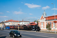A MÁV Nosztalgia kft. 204  Soroksár, Hősök tere állomáson
