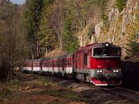 A ŽSSK 754  054-5  Vaso  Jánoshegy és Körmöcbánya között