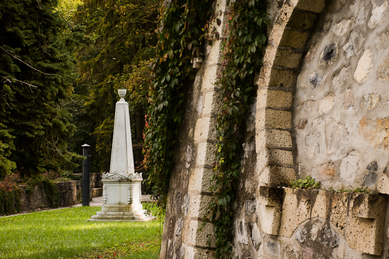 Obeliszk Lillafüreden fotó
