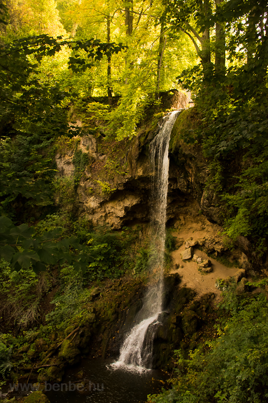 The waterfall at Lillafüred photo