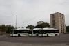 MVK MAN buses at Felső-Majláth