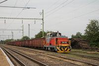 The MÁV-Start 478 314 seen at Miskolc-Gömöri hauling a local freight train