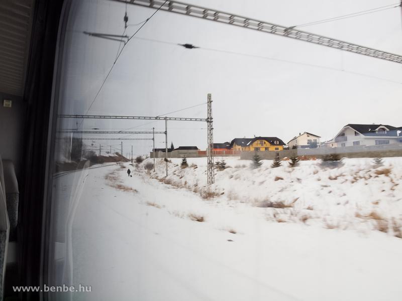 Kihúzóvágány a Tátrai Villamos Poprád állomásán fotó