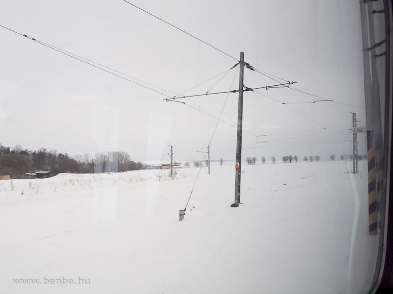 Fordító deltavágány Nagyszalókon (Vel'ky Slavkov, Szlovákia) fotó