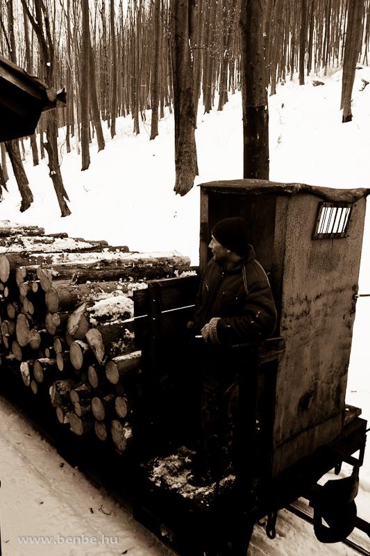 Tehervonati fékező a Lillafüredi Erdei Vasúton fotó