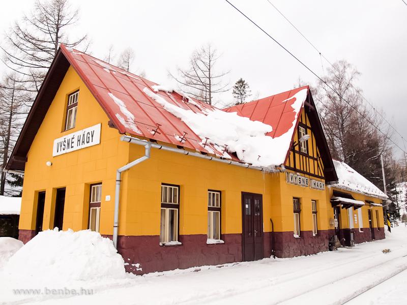 Felsőhági állomás (Vysné Hágy, Szlovákia) fotó